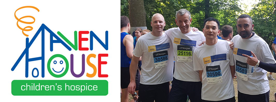 Orbian Runs the JP Morgan Corporate Challenge and Raises over £2,500 for Haven House