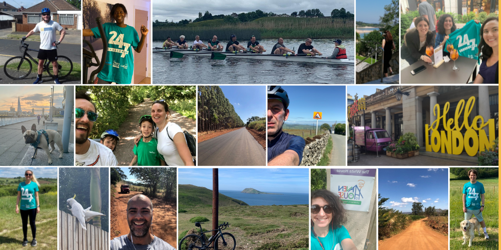 The Orbian Team Participates in the First Haven House 24/7 Corporate Challenge!